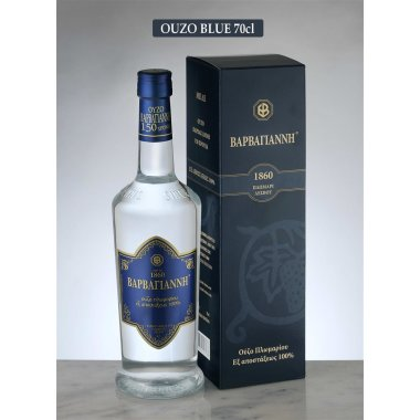 Barbayannis Ouzo blue 0,70L (43% vol.)