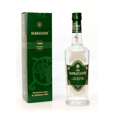 Barbayannis Ouzo green 0,70L (42% vol.)