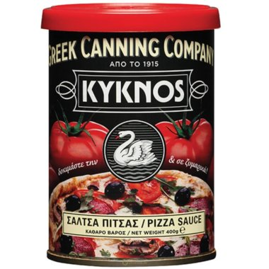 KYKNOS S.A. Greek Canning - Pizza Sauce mit Kräutern &...