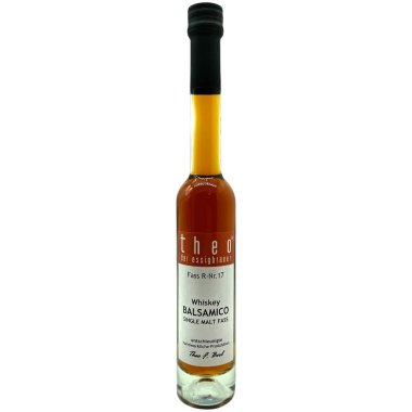 Theo - Whiskey Balsamico Single Malt Fass - 200 ml