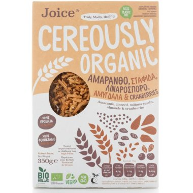 Joice - Cereously Organic Amaranth Cereal - Amaranth...
