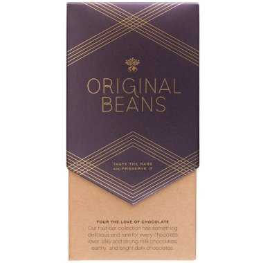 Original Beans - Four the Love of Chocolate Geschenkset -...