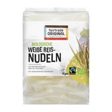Fairtrade Original - Weiße Bio Reisnudeln - TH-BIO-149 -...