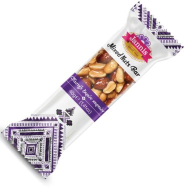 Jannis - Mixed Nuts Bar - Nussriegel - Nuss Mix - 40g